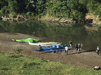 2017 Bohol clashes - Pump boats used by Abu Sayyaf in the Bohol attack