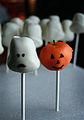 Pumpkin and ghost cake pops (4071641893).jpg