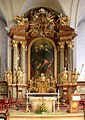 Purgstall - Kirche, Altar.JPG