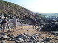 Putsborough , Rocks on the Beach - geograph.org.uk - 1155253.jpg