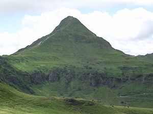 Puy Mary - Image: Puy Mary face Est