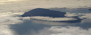 Qeqertarsuatsiaq Island - Aerial view of Qeqertarsuatsiaq Island