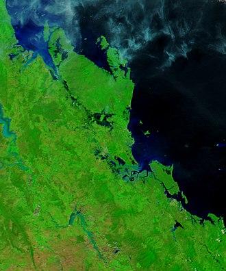 Cyclone Debbie - Queensland after Debbie on March 31