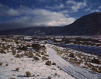 Enchanted Circle Scenic Byway - Image: Questa, Taos County, New Mexico 1943