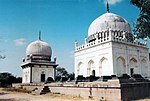 Mausolea of Qutub Shahi Kings including Hammam Gardens etc.