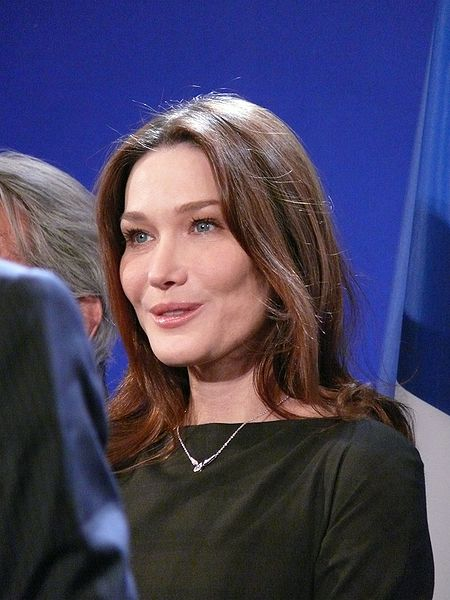 Carla Bruni Sarkozy (France)