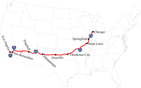 The Last Of Us Route 66 Was Bypassed By Interstate Highways In 1984