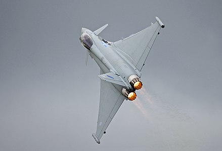 Eurofighter Typhoon at RIAT '12