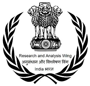Research and Analysis Wing - Image: RAW India
