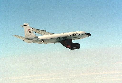 RC-135S COBRA BALL in flight