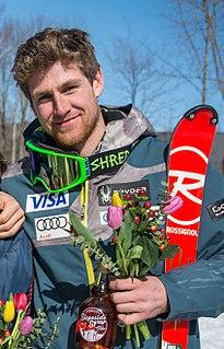 Ryan Cochran-Siegle American alpine skier