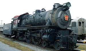 Pennsylvania Railroad 460 - PRR 460 in 2010 before restoration