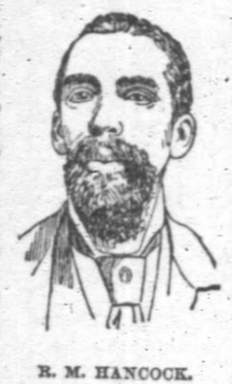 Richard Mason Hancock - Hancock in 1890