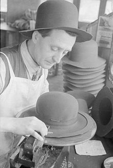 Rabbit Goes To Your Head- Hat Manufacture in Britain, 1940 D1285.jpg