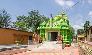 Jatani - Radhamadhavdev Temple inside Damanei Temple complex, Jatani