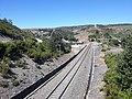 Railway near Campobecerros, Galicia.jpg