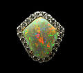 Rainbow shield opal and diamond pendant.jpg