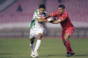 Raja de Casablanca vs Al Taliya, Arabian Champions League, October 29 2008-07.jpg
