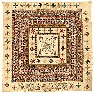 Rajah Quilt - Image: Rajah quilt