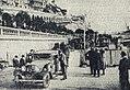 Rallye Monte Carlo 1931, vérifications sur le quai de Plaisance de Monaco, à l'arrivée.jpg
