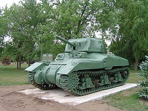 Ram tank - Early production Ram Mk II at CFB Borden