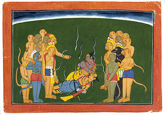 Indrajit - Image: Rama Lakshmana Nagapasha