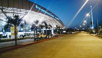 Birsa Munda Airport - Image: Ranchi Airport Night View