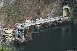Rangit Dam Dam in Legship, Sikkim, India