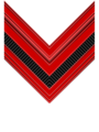 Rank insignia of caporale of the Italian Army (1940).png