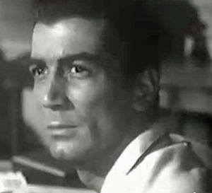 "Ray Danton - Ray Danton in trailer for ""The George Raft Story"" (1961)"