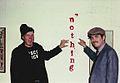 Ray Johnson and CrackerJack Kid, Feb 1984.jpg