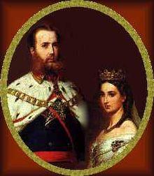 Imperatore Massimiliano I del Messico e Carlotta del Belgio