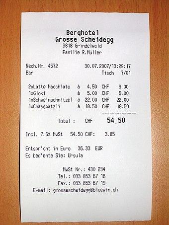 receipt wikiwand