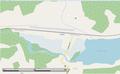 Redditt station OSM map.png