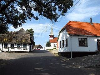 Reersø Town in Region Zealand, Denmark