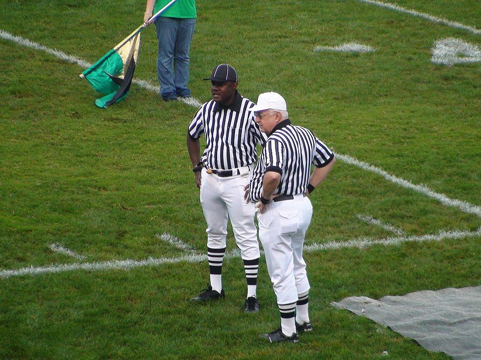 Referees, Battle for the King's Trophy, Germantown, Maryland, September 12, 2008