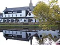 Reflections of The Mosset Tavern at Forres - geograph.org.uk - 1512509.jpg