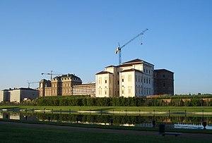 Sight of Reggia di Venaria Reale, royal palace...