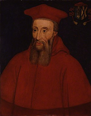 Reginald Pole - Reginald Pole became a cardinal in 1537; he was ordained in 1556.