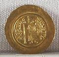 Regno longobardo, emissione aurea di liutprando, zecca di pavia, 712-744, 02.JPG