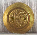 Regno longobardo, emissione aurea di liutprando, zecca di pavia, 712-744, 03.JPG
