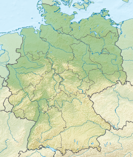 Relief Map of Germany.svg