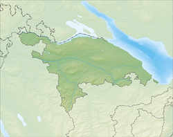 Basadingen-Schlattingen is located in Canton of Thurgau