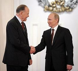 Rem Petrov and Vladimir Putin, June 2012.jpg
