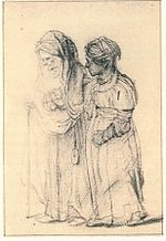 Rembrandt Two Women Walking.jpg