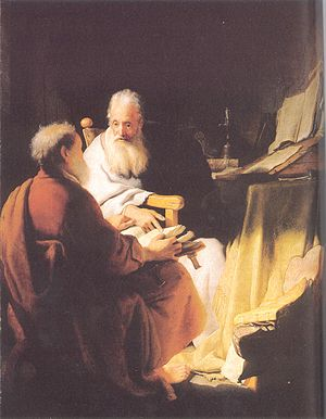 Paul the Apostle and Judaism - Image: Rembrandt van Rijn 185