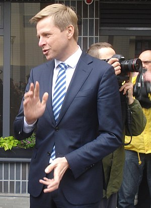 Remigijus Simasius is the current Mayor of Vilnius since 2015 Remigijus Simasius 1.JPG
