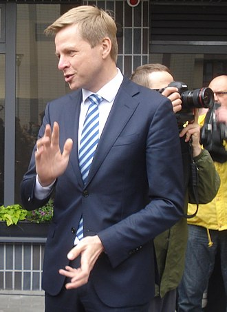 Liberal Movement (Lithuania) - Remigijus Šimašius, current leader of Liberals' Movement of the Republic of Lithuania