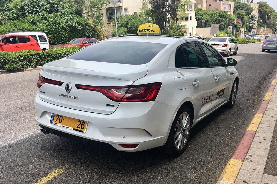 RenaultMeganeGrandCoupeTaxi