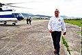 Renis Tershana during aviation.jpg